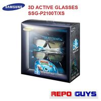 4 x SAMSUNG 3D ACTIVE GLASSES SSG-P2100T/XS GENUINE WITH CD  New No Packaging