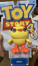 Disney Pixar Toy Story 4 Poseable Figure - Ducky 8 Inch Birthday Collect