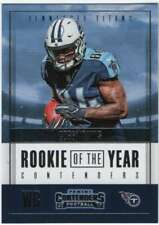 2017 Contenders Rookie of the Year Contenders #22 Corey Davis Titans