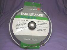 Farberware 12-Inch Glass Lid - 58038  NEW