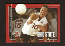 Ohio State Buckeyes--2003 Volleyball Pocket Schedule--McDonald's