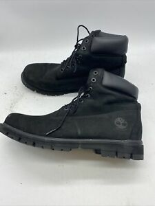 TIMBERLAND MEN'S RADFORD LIGHTWEIGHT WATERPROOF BLACK WATERBUCK SIZE 11.5 Z764