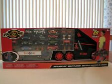 Fast Lane Truck Carry Case Toys R Us Exclusive Includes 11 Die-Cast Vehicles-New