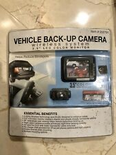 "NEW Winplus Vehicle Back-Up Camera 3.5"" LCD Color Monitor Night Vision Wireless"