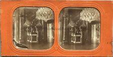 Palais des Tuileries Statue de la Paix Photo Stereo Vintage Diorama Tissue