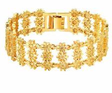 Trendy Bangles & Bracelets For Women Exquisite Gift Hollow Flower Pattern Copper