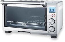 Oven Toaster Countertop Tempered Glass Door Nonstick Interior stainless Steel