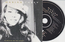 CD CARTONNE CARDSLEEVE 2T MARIAH CAREY ALWAYS BE MY BABY 1996