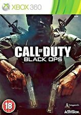 Call of Duty: Black Ops Xbox 360 & Xbox 1- Good - 1st Class FAST & FREE Delivery