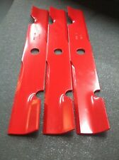 "EXMARK HIGH LIFT BLADES FOR 52"" CUT. REPLACES OEM 103-6402. SET OF 3"