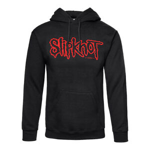 Official Hoodie SLIPKNOT Black LOGO Band Hooded Top All Sizes