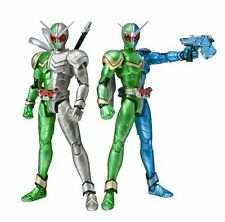 S.H.Figuarts Masked Kamen Rider W DOUBLE CYCLONE TRIGGER & METAL BANDAI Japan