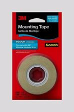 "3M Scotch WINDOW INSULATOR MOUNTING TAPE Weatherstrip Film Indoor .5"" x 13.8 Yds"