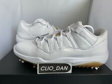 Nike Jordan 11 Golf Shoe - White - UK9.5 / US 10.5
