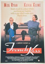 FRENCH KISS / ORIGINAL VINTAGE VIDEO FILM POSTER / MEG RYAN KEVIN KLINE 4