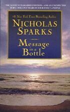 Message in a Bottle by Nicholas Sparks (1999, Paperback, Reprint)