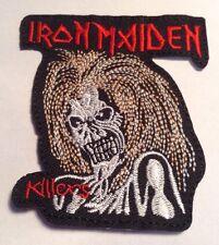 Parche / Patch/ Iron Maiden. Bordado, Pero Se Pega Con Calor
