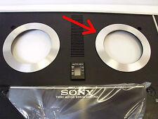 Pair - Sony TC-730 Reel Hub Aluminum Rings  - Vintage Audio Reel to Reel part
