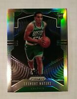 2019-20 Panini Prizm Tremont Waters Silver Rookie Refractor Card #286