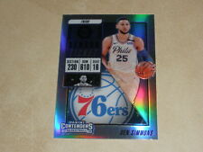 2018-19 Panini Contenders Silver Prizm #15 Ben Simmons