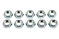M12 x 1.75mm Right Hand Threaded Half Nuts, Ideal for Rose Joints - Pack of 10