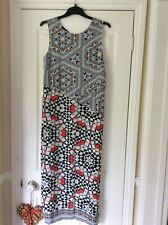 Warehouse Mosiac Print Maxi Dress Sz 14