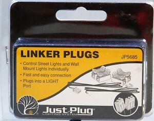 WOODLAND SCENICS LINKER PLUGS FOR JUST PLUG LIGHTING SYSTEM light wire WDS5685