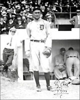 Ty Cobb Autographed #1 Repro Photo 8X10 - Tigers