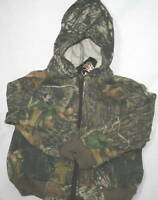 Mossy Oak Camo Baby Toddler Boys Hoodie Sweat Jacket - Kid's Fleece Camouflage