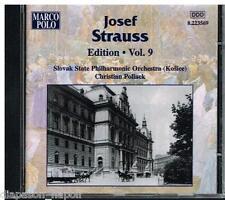Josef Strauss Edition Vol 9 / Christian Pollack - CD