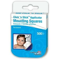 3L Click 'n Stick Permanent Mounting Squares - 266123