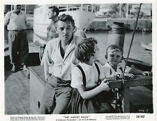 ROBERT MITCHUM THE ANGRY HILLS  1959 VINTAGE PHOTO ARGENTIQUE N°3