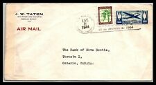 GP GOLDPATH: DOMINICAN REPUBLIC COVER 1944 AIR MAIL _CV570_P23