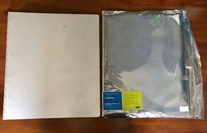 "PINA ZANGARO ALUMINUM BINDER 13"" X 15"" WITH 10 PLASTIC SHEETS"
