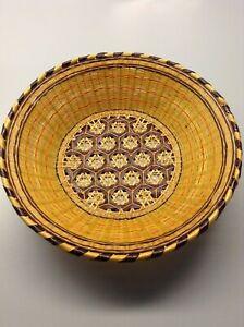 Vintage Multi Color Basket