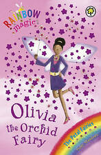 Rainbow Magic: Olivia The Orchid Fairy 'The Petal Fairies Book 5 Daisy Meadows