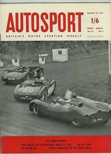 Autosport February 28th 1958 *Borgward Isabella Test*