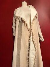Jean Charles de Castelbajac Paris blanket coat jacket  full lenght  France OS