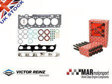 FORD FOCUS 2.5 T ST225 5 Cylinder MLS Reinz Head Gasket Set  + Elring Head Bolts
