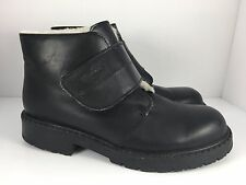 MARTINO North Velm Women US 8  Black Ankle Boots Wool Lining Canada  J39