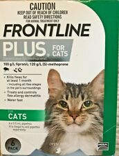 Frontline Plus For Cats 6 Doses / 6 Month Supply Flea & Tick Remedy