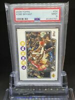 🔥2008 Topps KOBE BRYANT #24 PSA 9 w/ Lebron James🔥🐐📈 Non Chrome