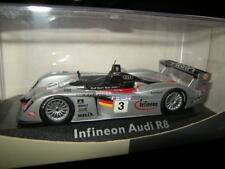 1:43 Minichamps Audi R8 Infineon Le Mans 2002 #3 in OVP
