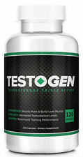 Testogen Triple Action Testosterone Booster Sealed 120 Capsules Male Enhance #1