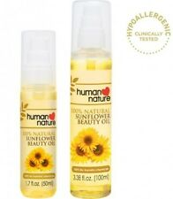 Last Stock- Human Nature - Sunflower Seed Beauty Oil (100ml) Natural Skin Care
