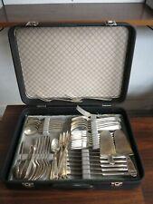 42 x WMF Friodur Zwilling Silber Besteck Messer Gabeln Löffel TRUE VINTAGE