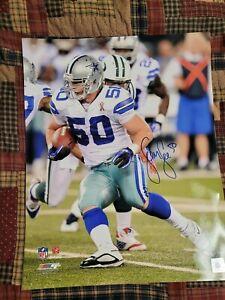 Sean Lee Autographed Signed 16x20 Photo Dallas Cowboys