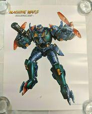 Transformers Machine Wars OBSIDIAN Lithograph Poster Print 2013 Botcon LADV09