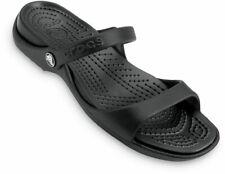 crocs Sandale Cleo Women Schwarz / Schwarz Croslite Normal Damen