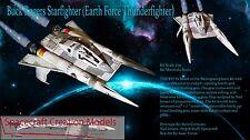 Spacecraft Starfighter Buck Rogers 1:32 scale resin model kit
